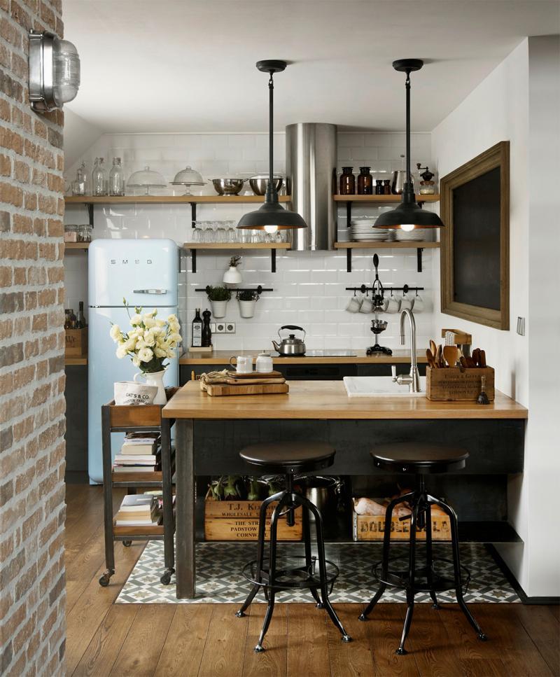 Дизайн кухни 9 кв. метров