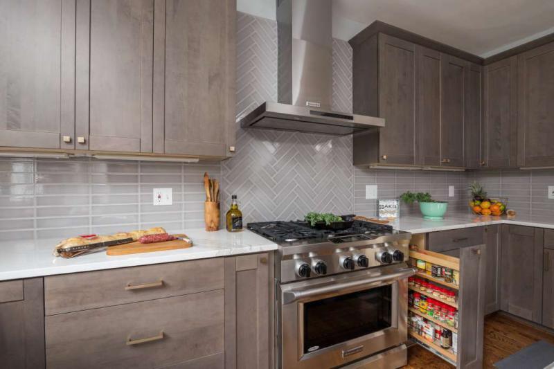 Дизайн фартука для кухни с фото
