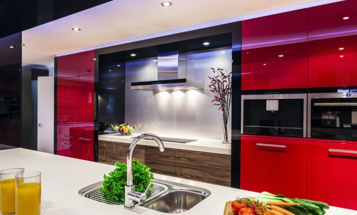 Дизайн кухни в современном стиле. Последние тенденции, фото